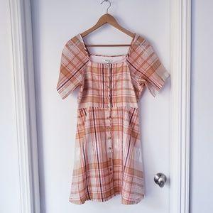 NWT Madewell Sheer Silk Blend Dress Sz 6
